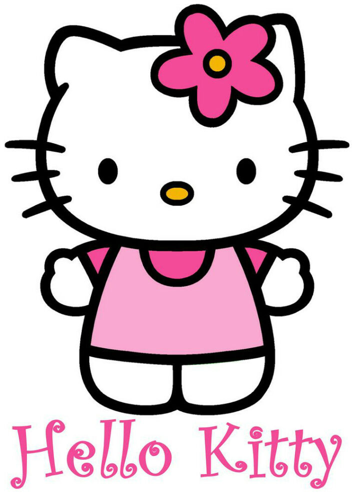 Sweet image in hello kitty printable