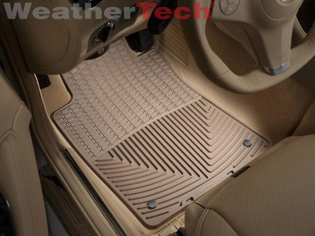 Weathertech all weather floor mats mercedes e class for Mercedes benz e350 floor mats