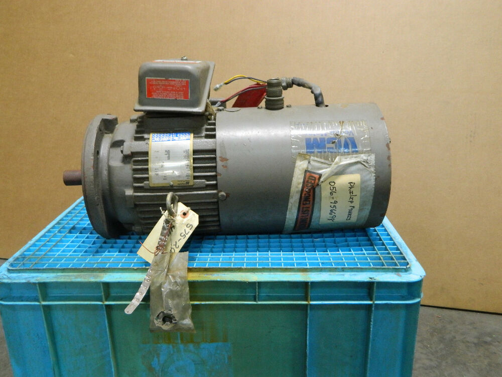 Magnetek electric motor 6 372682 41 rpm 1735 hp 3 phase 3 for 3 phase motor hp to amps