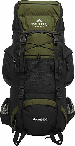 New SEALED Teton Sports Scout 3400 Internal Frame Backpack Attached ...