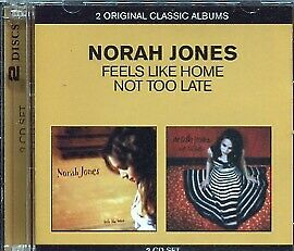 norah jones feels like home not too late 2 cd 39 s new 5099909885424 ebay. Black Bedroom Furniture Sets. Home Design Ideas