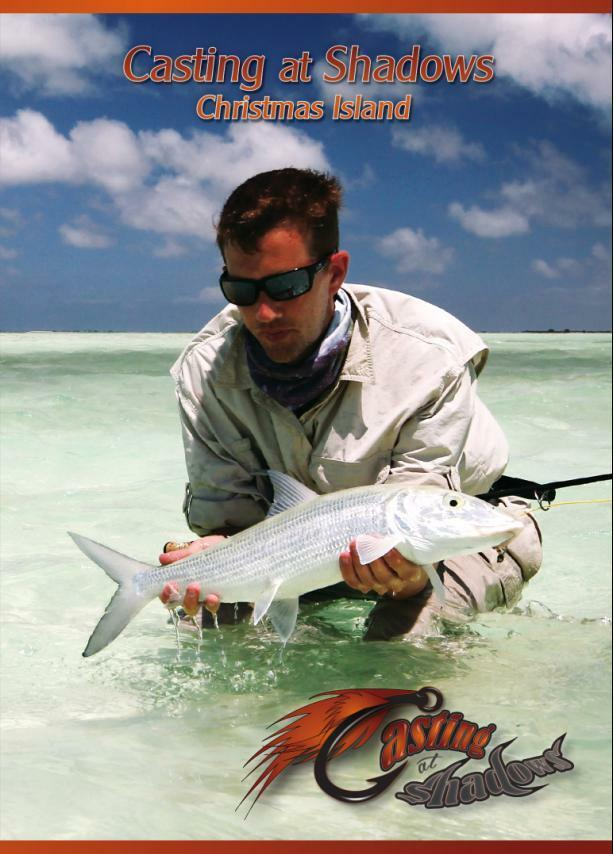 Casting at shadows christmas island saltwater fly for Shadow fly fishing