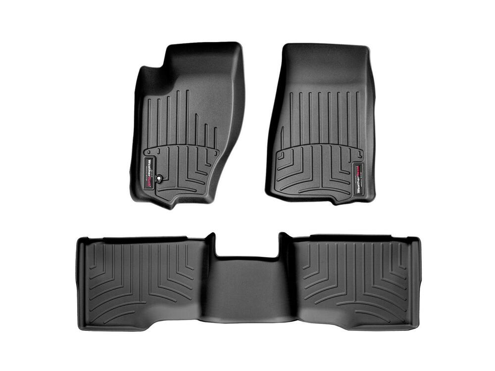 Weathertech mats for jeep grand cherokee - Weathertech Floor Mats Floorliner Jeep Grand Cherokee 2005 2010 Black
