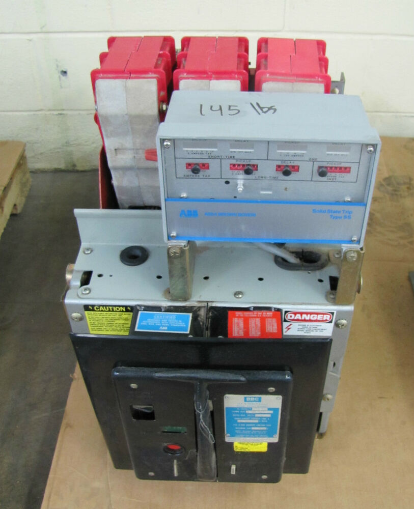 Air Circuit Breaker : Abb asea brown boveri power ite air circuit breaker a