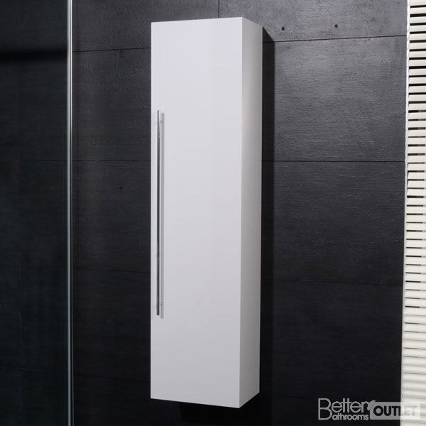white gloss corner bathroom wall cabinet new bathroom wall mounted hung side cabinet unit 25887