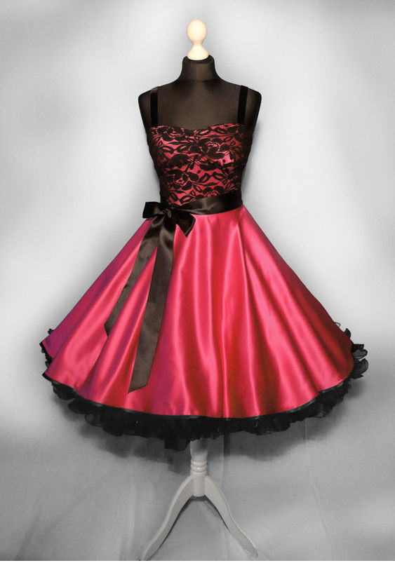 abendkleid spitze rot kleid abiball konfirmation. Black Bedroom Furniture Sets. Home Design Ideas