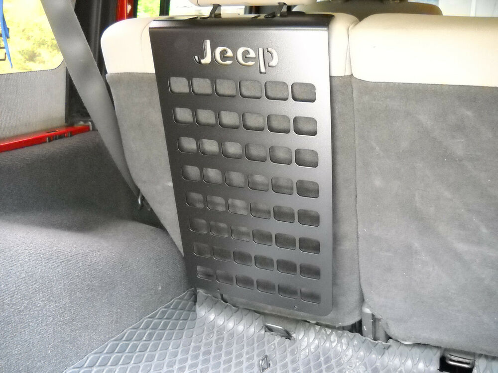 Jk Jeep Molle Panel For Back Seat Storage 07 17 Ebay