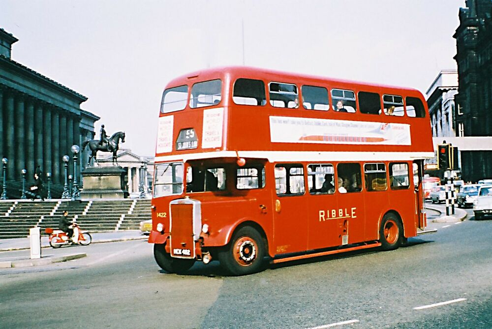 Ribble Motor Services Buses, Sets of 10 6x4 Colour Prints ...