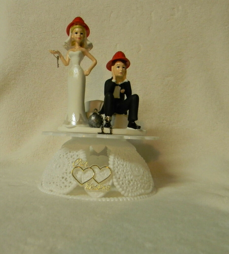 fireman cake toppers for wedding cakes wedding reception fireman firewoman firefighter axe 14270