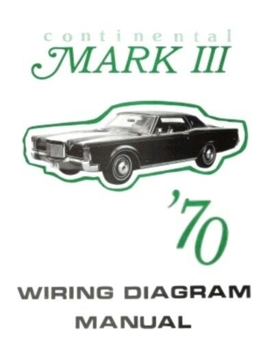 lincoln 1970 continental mark iii wiring diagram manual 70 simple auto wiring diagram