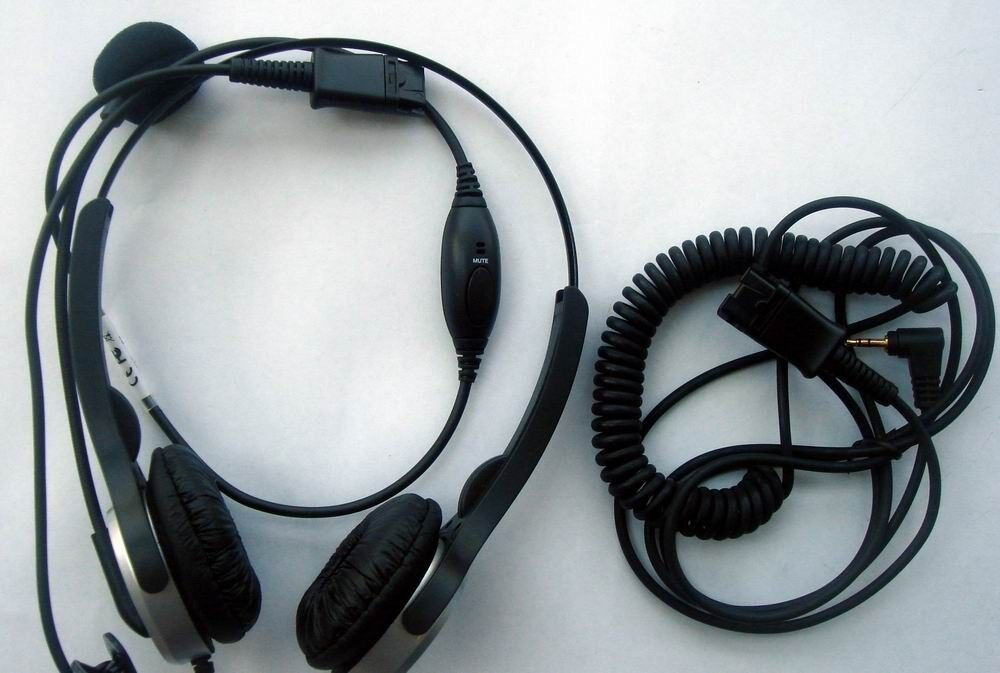 H20p headset with 2 5mm ip cordless phone headset for office and call centre ebay - Phone headsets for office ...