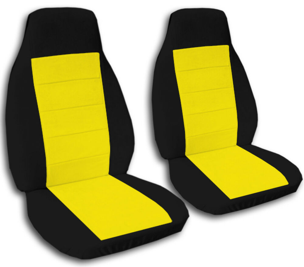 Chevy S10 60 40 Seat 2 Tone Front Car Seat Covers Choose