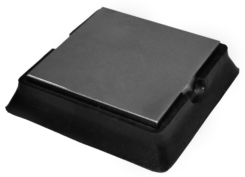 Large 4 Inch Rubber And Steel Bench Block Ebay