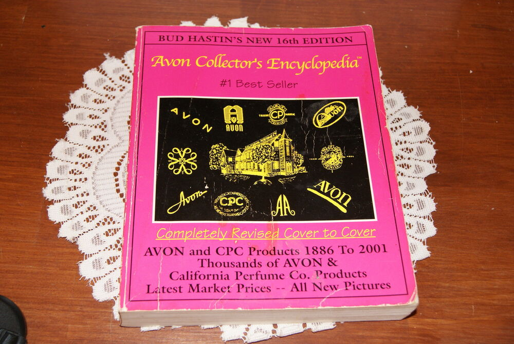 Bud Hastin S Avon Collector S Encyclopedia 1886 2001 Ebay