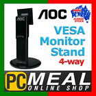 AOC HA22 VESA Monitor Stand Height Adjustment 4-Way Adjustable Pivot Swivel Tilt