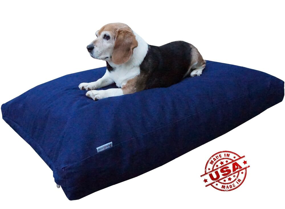 Heavy Duty Memory Foam Pet Dog Bed Pillow With Water