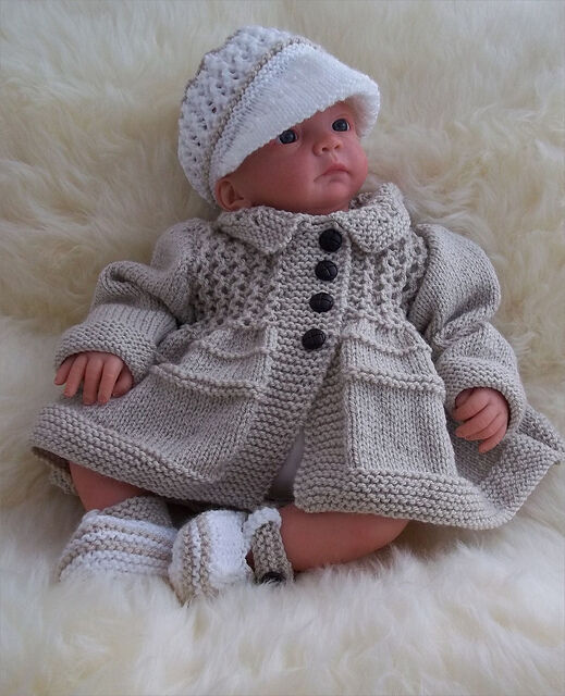 Baby Knitting Pattern Boys Or Reborn Dolls To Knit Tommy