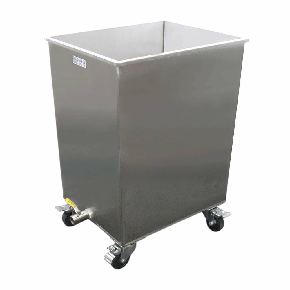 Stainless steel restaurant hood grease filter soak clean for Commercial kitchen grease filters