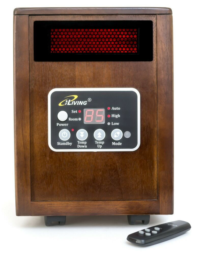 Iliving infrared space quartz heater 1500w by dr heater 2x Dr infrared heater