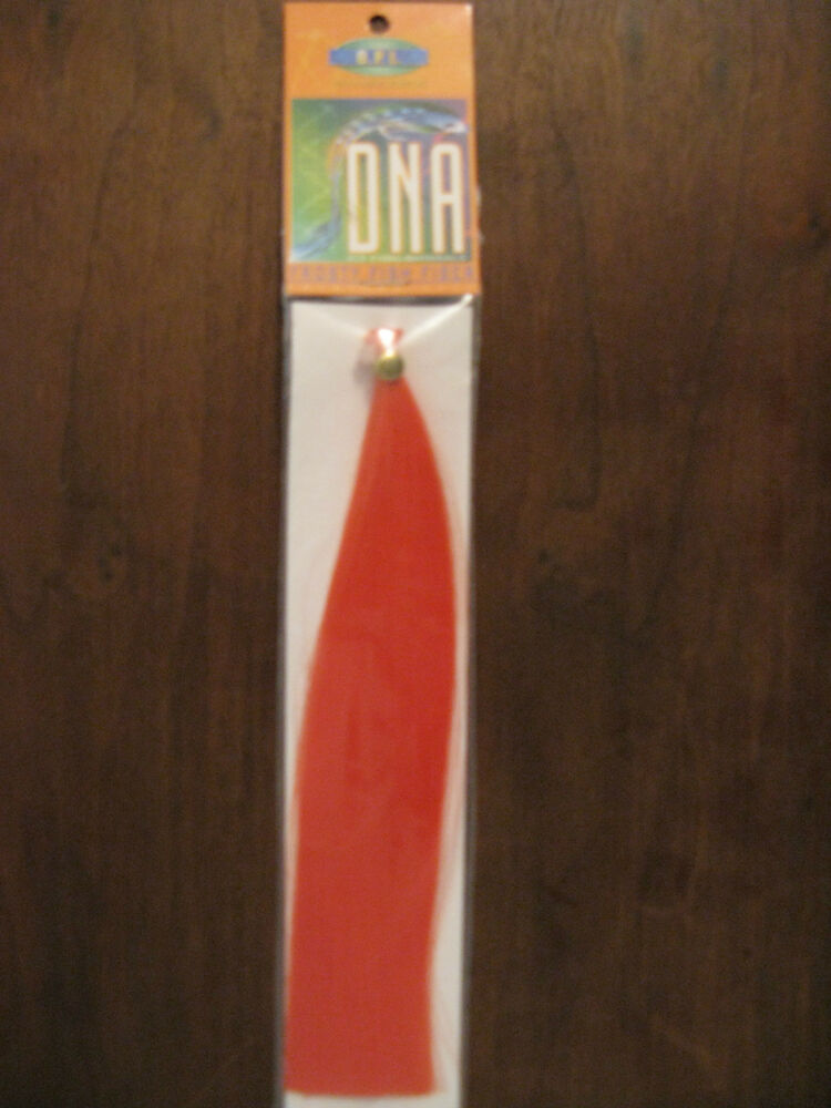 Fly tying dna frosty fish fiber orange ebay for Fiber in fish