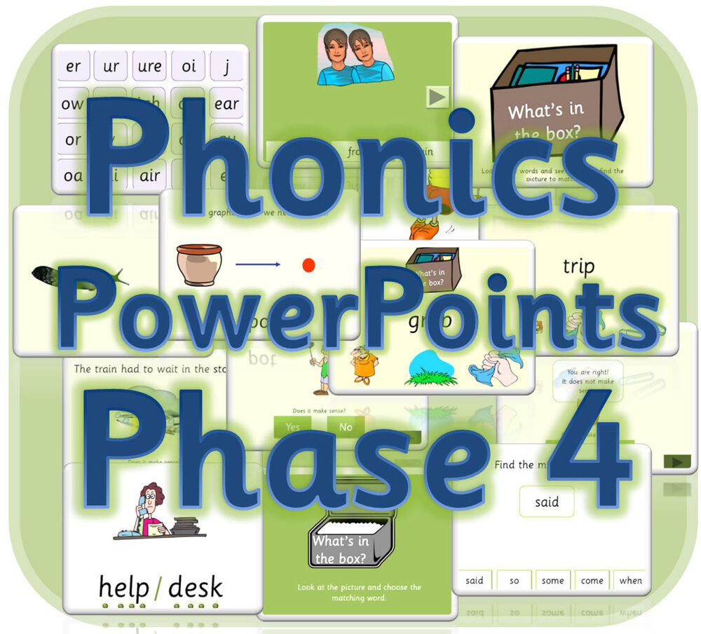 LETTERS AND SOUNDS PHASE 4 Powerpoints KS1 IWB Phonics