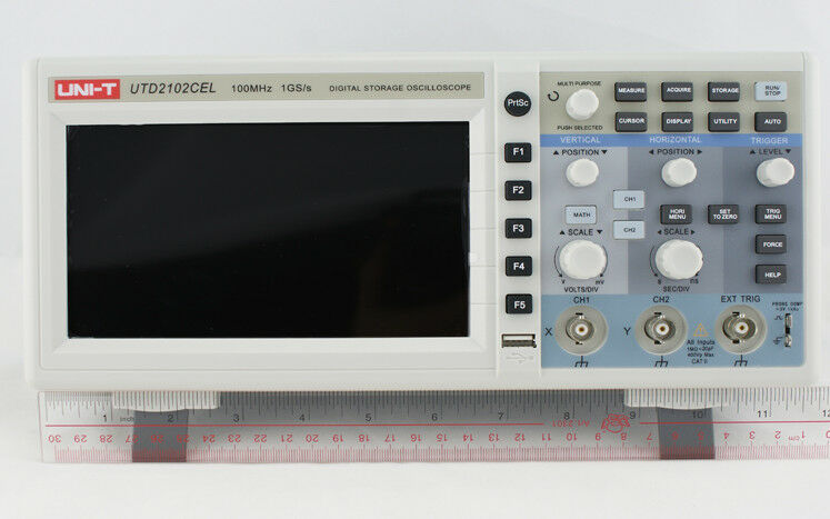 Digital Storage Oscilloscope : Uni t utd cex mhz digital storage oscilloscope g sa