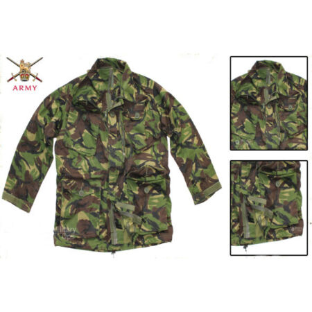 img-BRITISH ARMY SOLDIER 95 ISSUE JACKET RIPSTOP GENUINE DPM CAMOUFLAGE COMBAT SMOCK