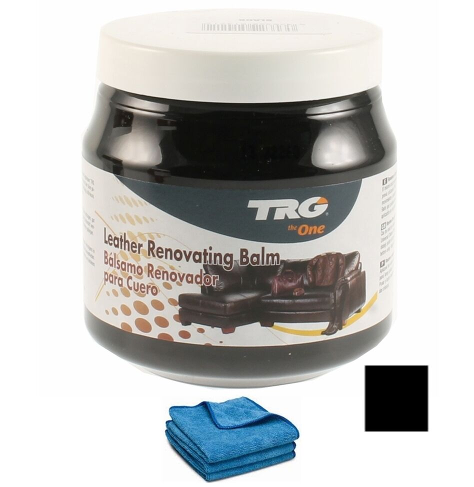 trg grison black leather car interior dye colour restorer cream 14 colours ebay. Black Bedroom Furniture Sets. Home Design Ideas