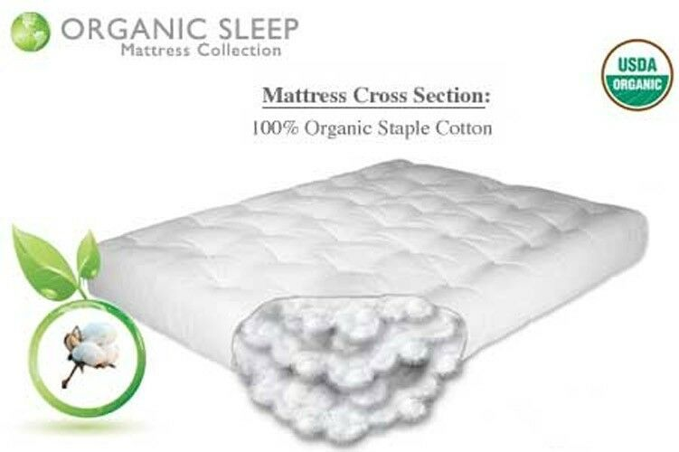 The Futon Shop 8 Quot Firm And Supportive Organic Cotton