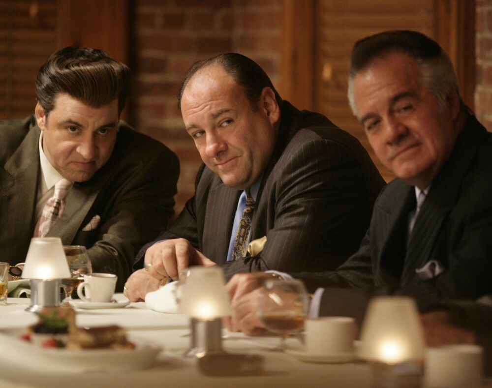 The sopranos cast mobsters gangsters mafia hbo tv 8x10 photo picture