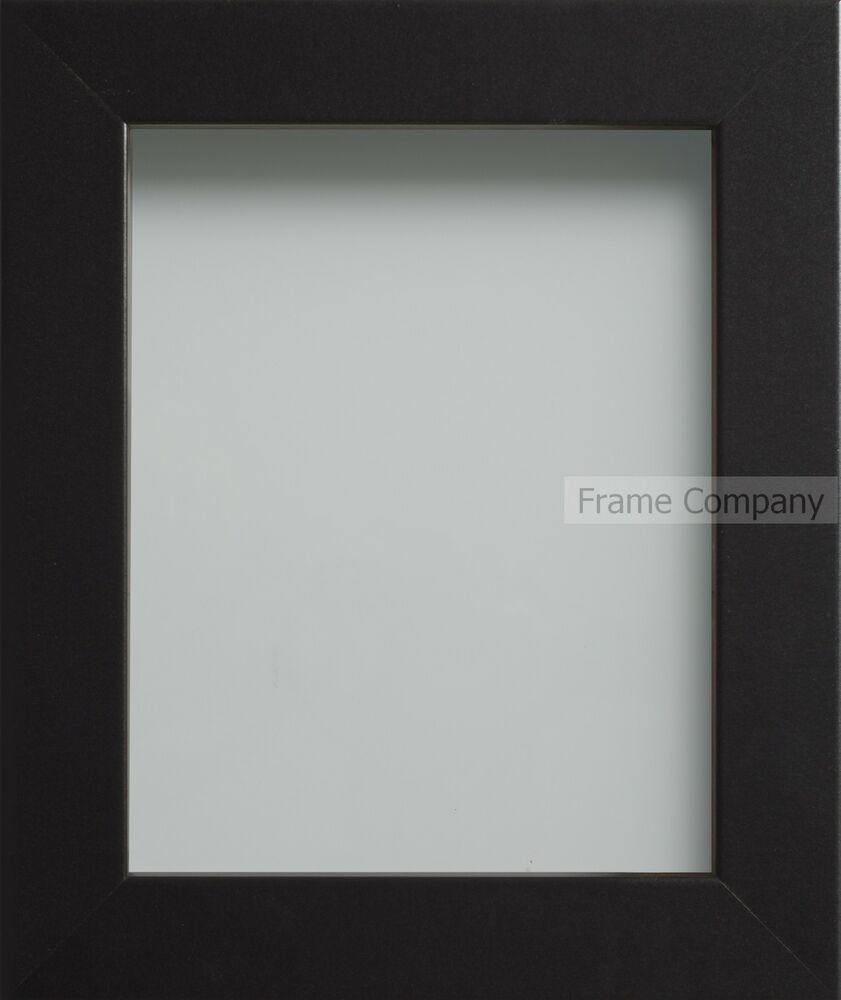 Large 40x30 Inch Picture Poster Frames Black White Beech
