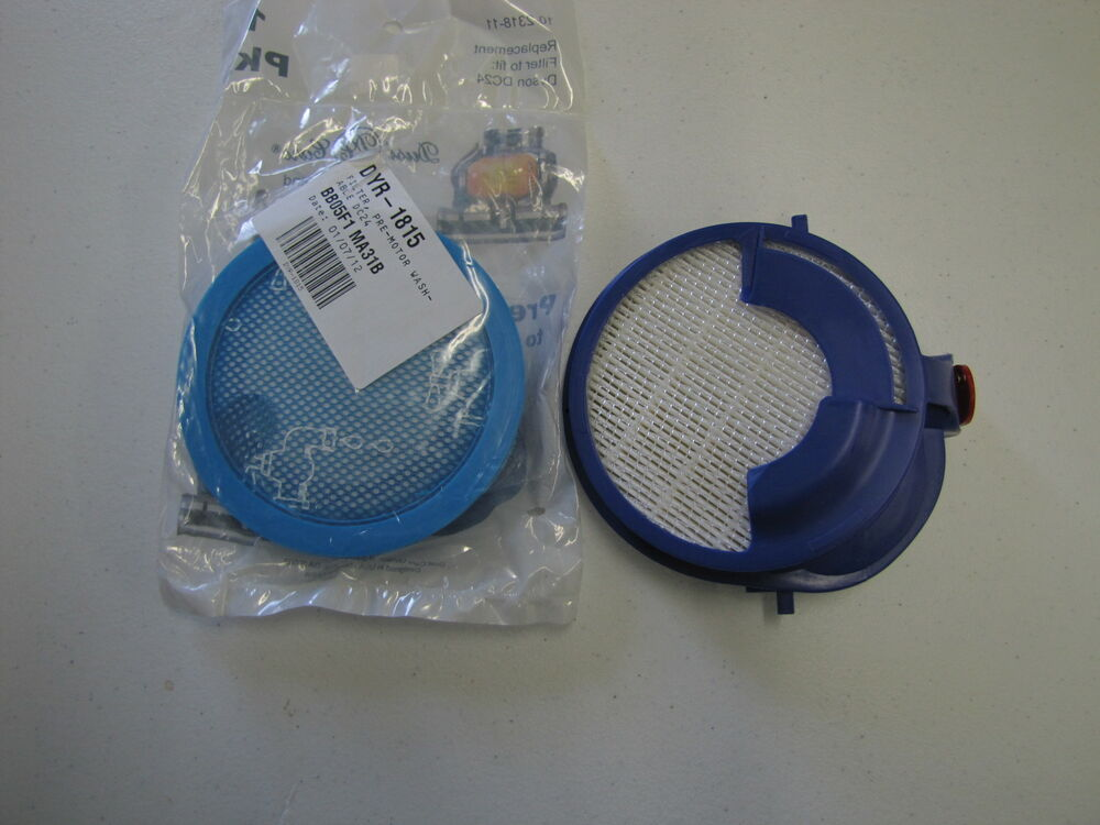 Washable Hepa Exhaust Motor Filters Fit Dyson Dc24