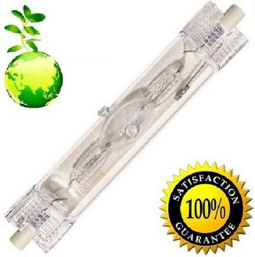 150W HQI Metal Halide 6400K Yellow Double Ended Plant