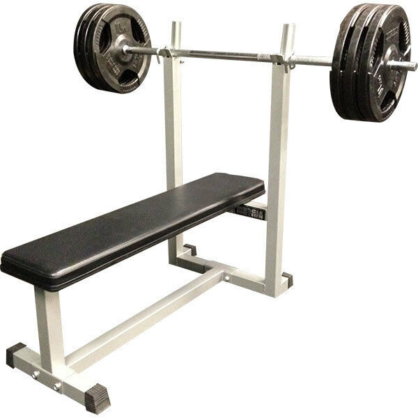 MUSCLE MOTION FLAT BENCH PRESS FOR HOME GYM, STRONGEST OF