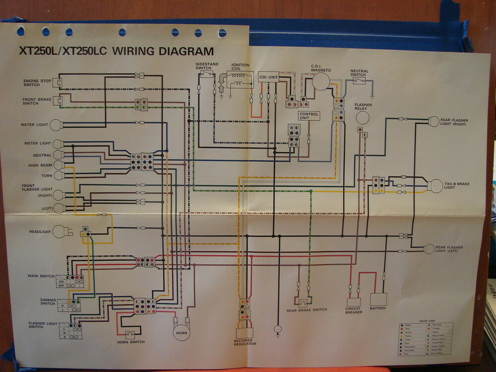 Yamaha F8 Wiring Diagram | Images of Wiring Diagrams on
