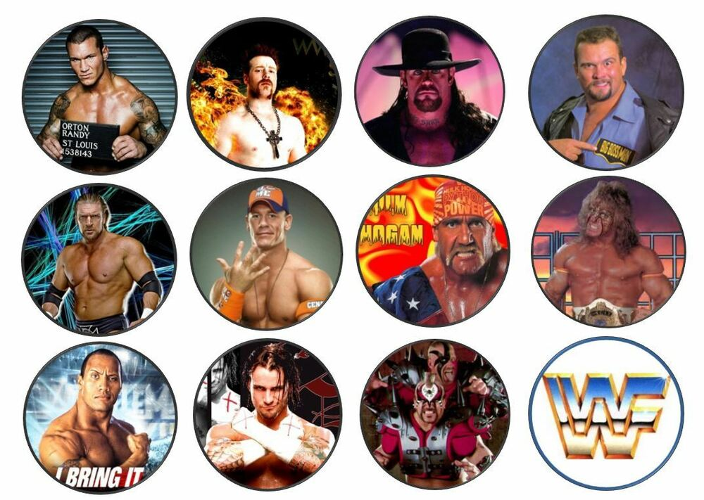 Wwe Cake Toppers Uk