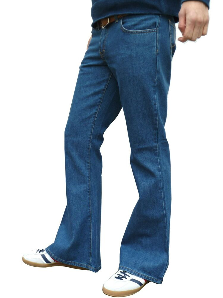 Mens Bellbottom Jeans