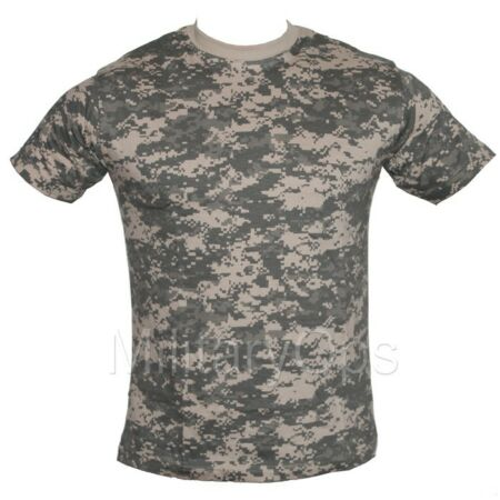 img-MILITARY ACU DIGITAL ALL TERRAIN CAMOUFLAGE CAMO T SHIRT US ARMY 100% COTTON