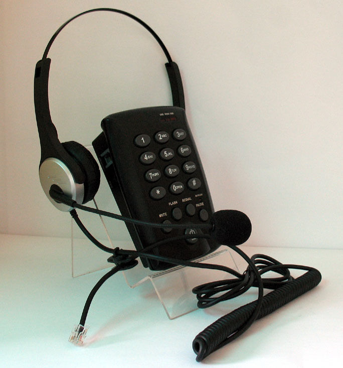 Calltel Feature Headset Telephone For SOHO HOME OFFICE