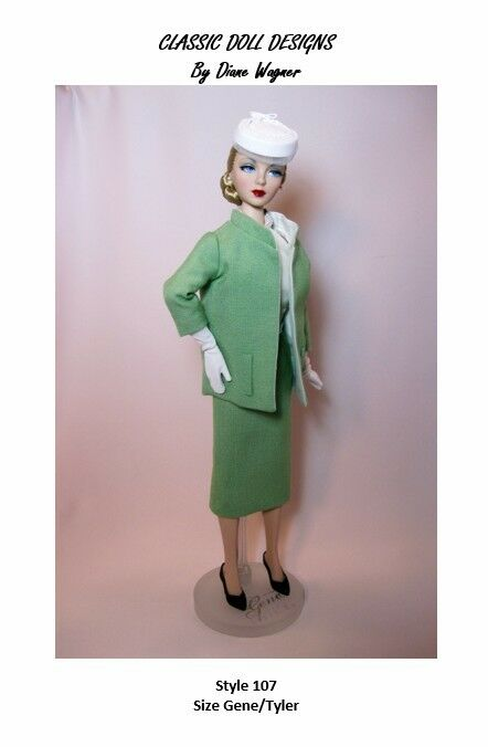 SEWING PATTERN-Style 107 Film Inspired Suit Gene Tyler