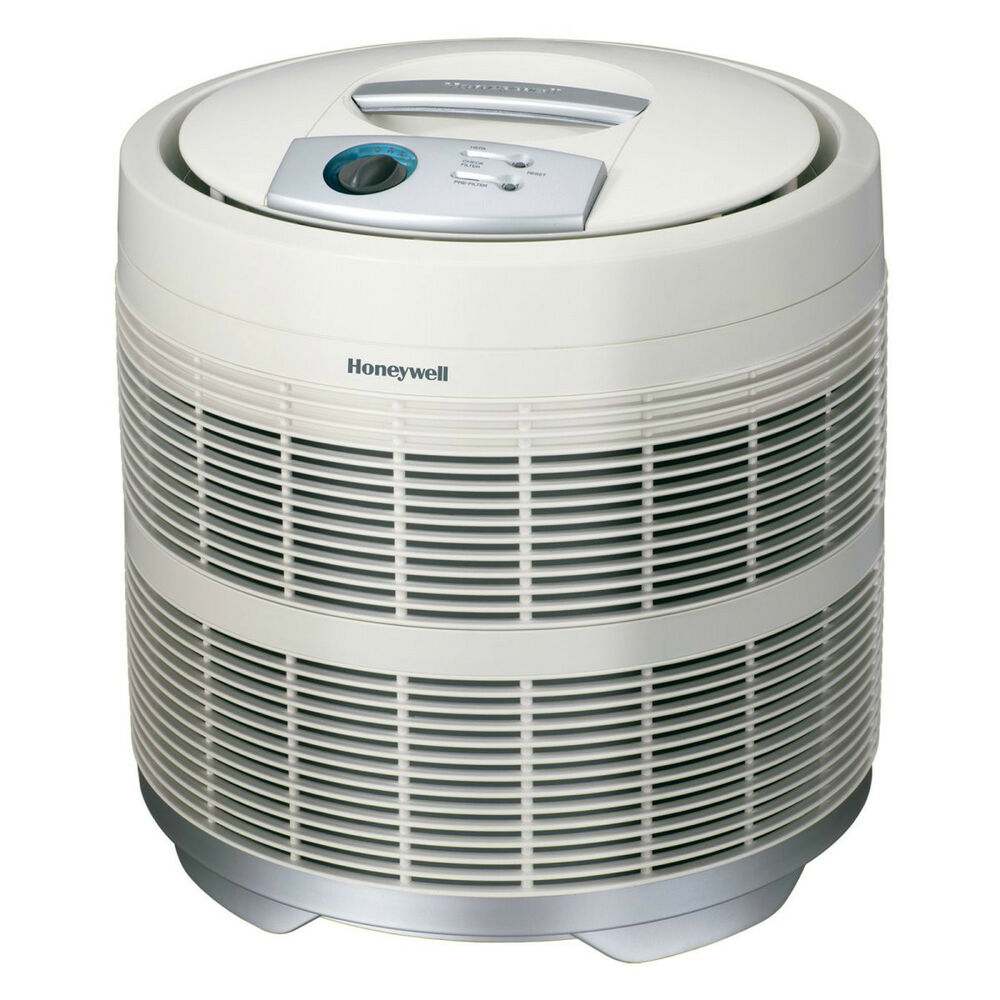 brand new honeywell 50250 s pure hepa round air purifier with carbon pre filter ebay. Black Bedroom Furniture Sets. Home Design Ideas