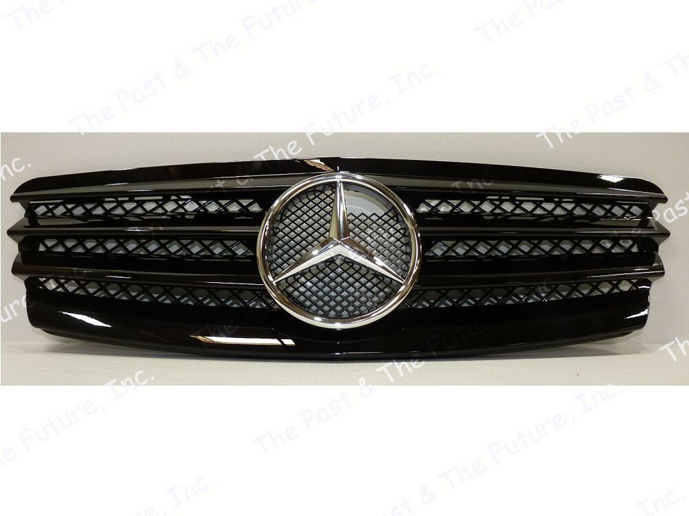 02 03 04 05 06 mercedes benz e class w211 style sl grille for Mercedes benz grills
