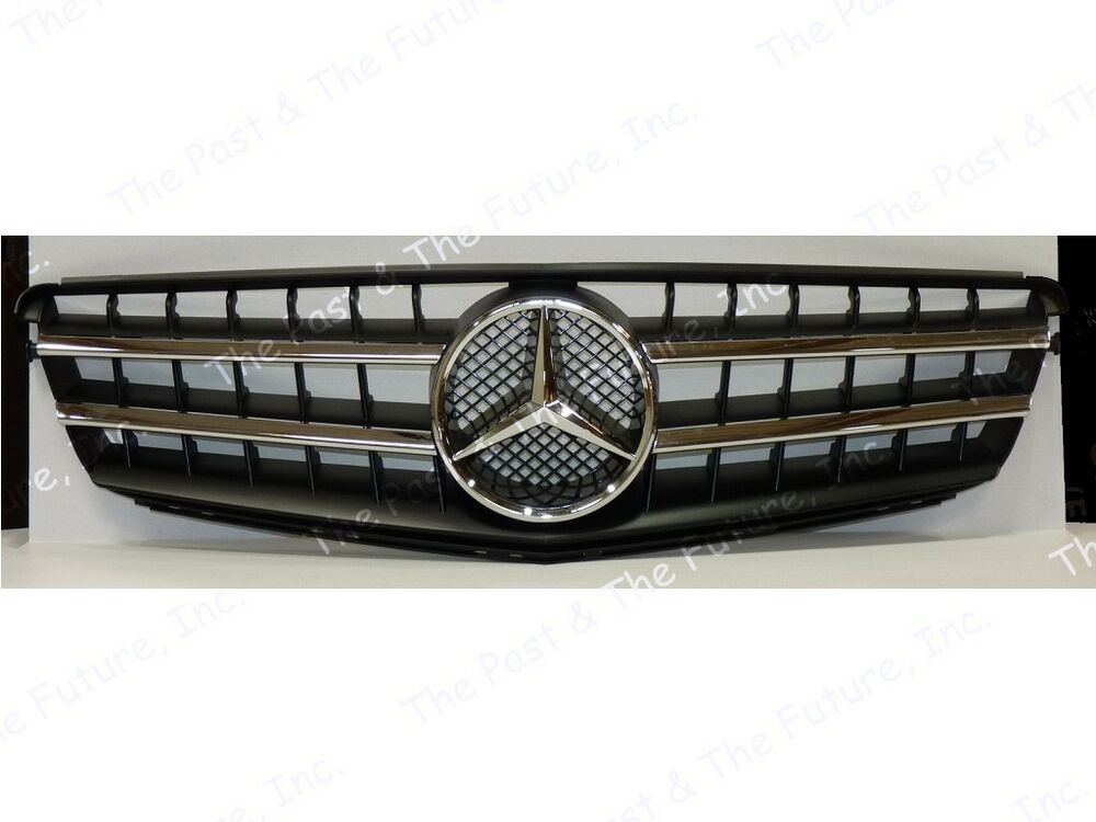 08 09 10 11 12 mercedes benz c class w204 style cl grille for Mercedes benz c300 grill