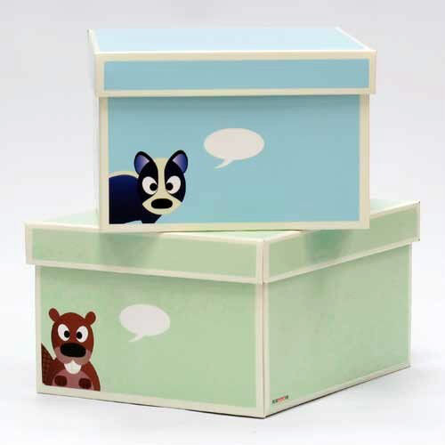 how to clean cardboard toy boxes