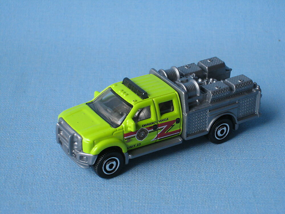 matchbox ford f 550 super duty fire engine rescue truck. Black Bedroom Furniture Sets. Home Design Ideas