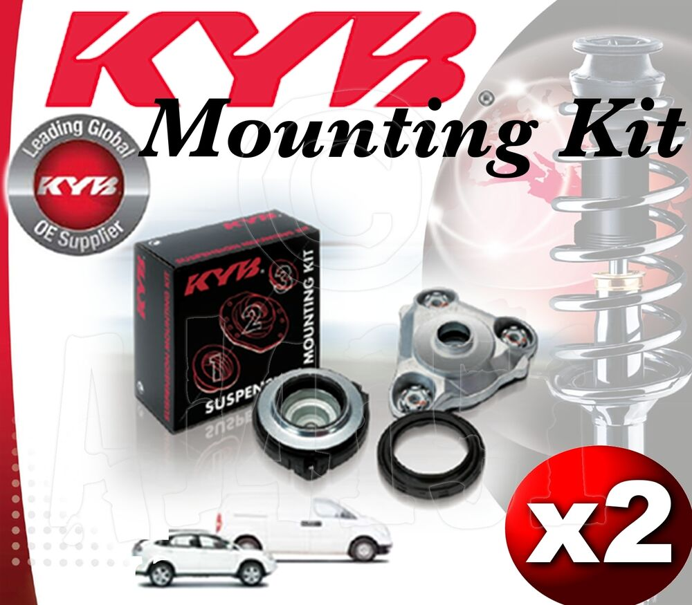 2x kyb front shock absorber top mounting kit citroen c4 picasso 06 on sm1923 ebay. Black Bedroom Furniture Sets. Home Design Ideas