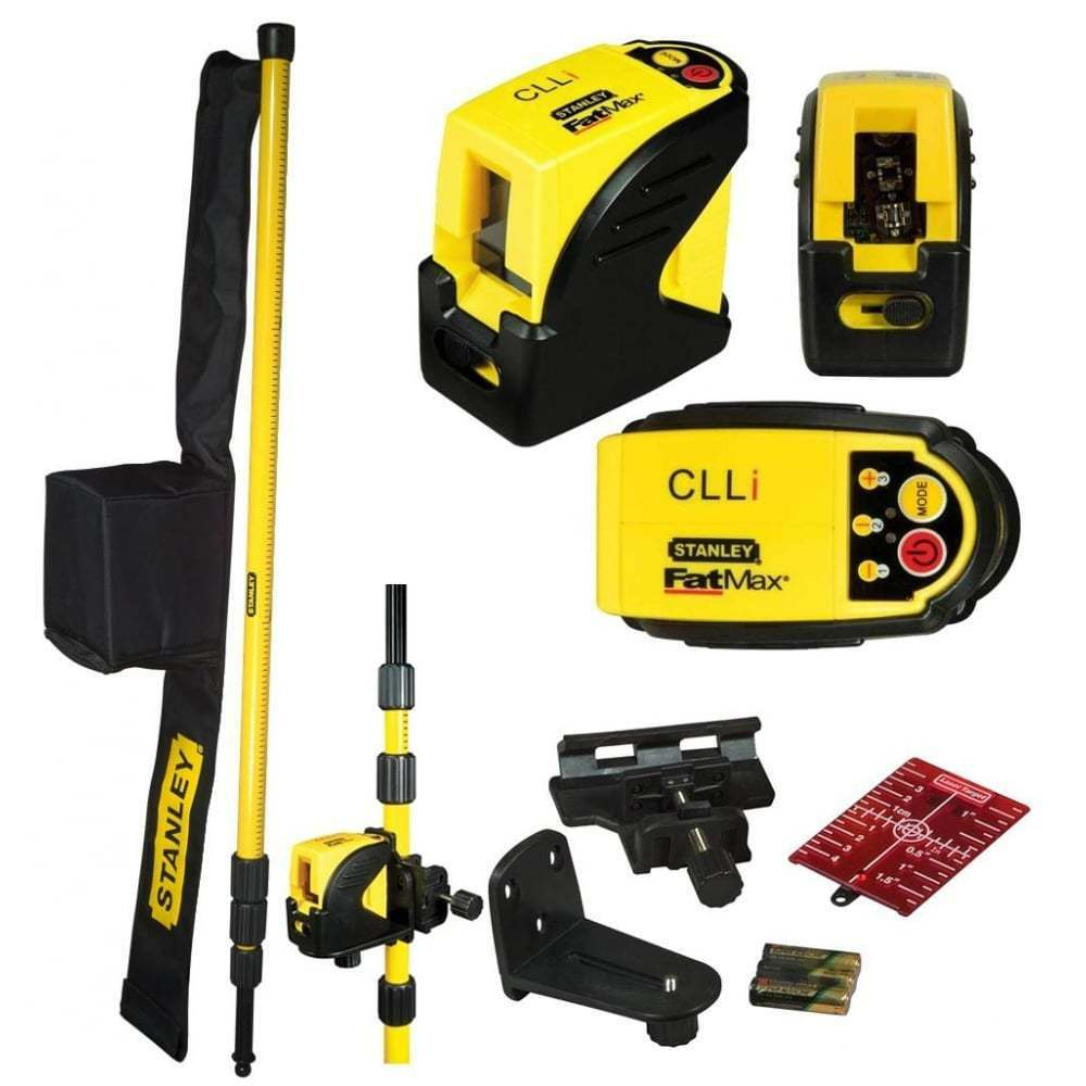 Stanley Fatmax Clli Self Leveling Cross Line Laser Level Extending Pole 177123 Ebay
