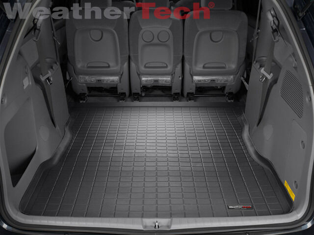 weathertech cargo liner trunk mat toyota sienna. Black Bedroom Furniture Sets. Home Design Ideas