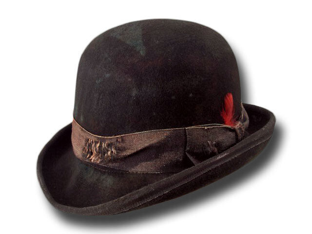 melone hut old western antique bowler hat ebay. Black Bedroom Furniture Sets. Home Design Ideas