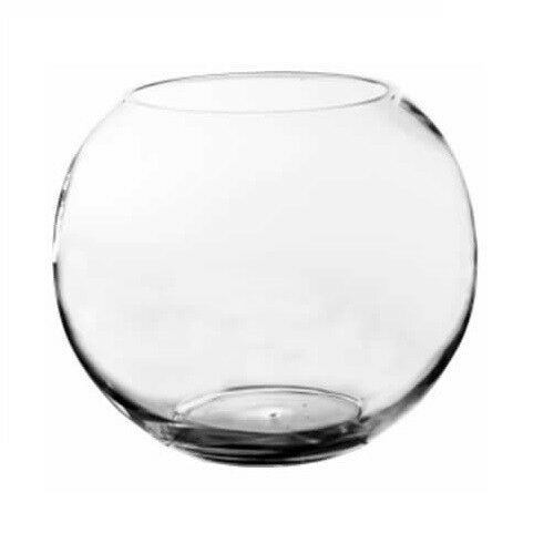 Jumbo Bubble Bowl Glass Vases 1pc 16 Quot Body Diameter Fish